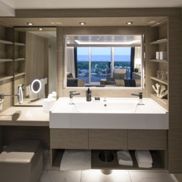 celebrity cruises edge cruise ship sky sure bathroom