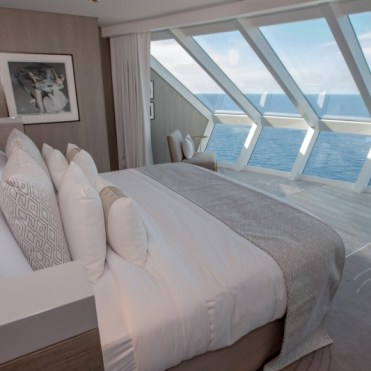 celebrity cruises edge cruise ship bedroom view