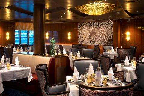 Holland America Cruises Nieuw Statendam Pinnacle Grill restaurant