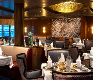 Holland America Cruises Nieuw Statendam Pinnacle Grill restaurant