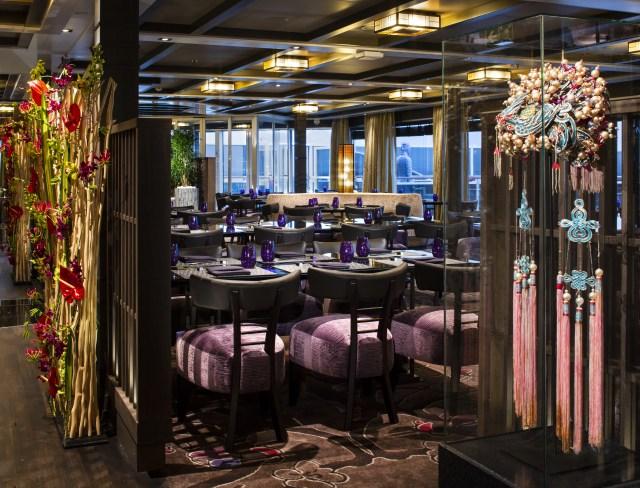 Holland America Cruises Nieuw Statendam Tamarind restaurant