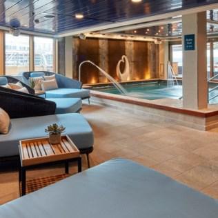 Cunard Queen Elizabeth spa