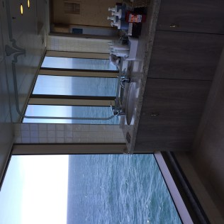 Cunard Queen Elizabeth spa view