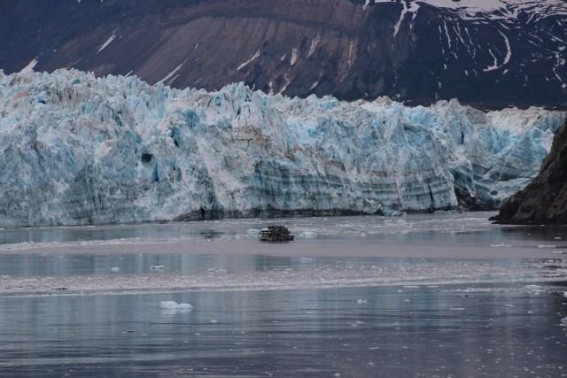 Cunard Queen Elizabeth Glacier Calving