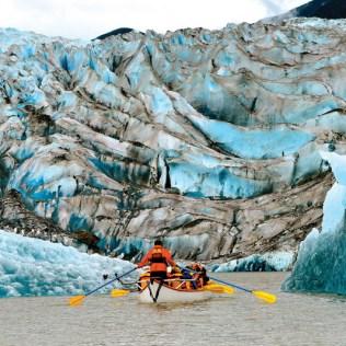 Cunard Queen Elizabeth Alaska kayaking