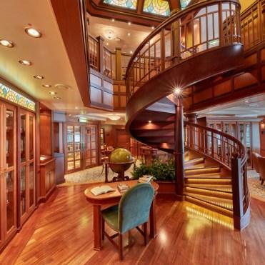 Cunard Queen Elizabeth Library