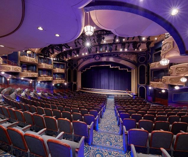 Cunard Queen Elizabeth Royal Court Theatre