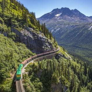 Cunard Queen Elizabeth Alaska train ride