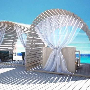 Celebrity Cruises Flora loungers
