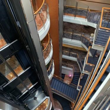 Regent Cruises Voyager Elevators