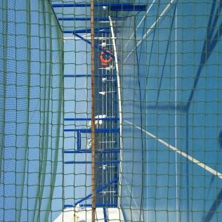 Regent Cruises Voyager tennis court
