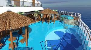 Carnival Panorama Aft Pool