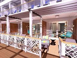 Carnival Panorama Haven Suite Backyard