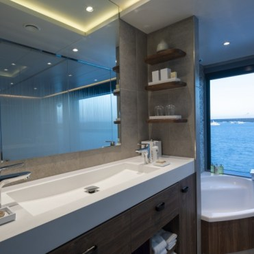 Celebrity Cruises Flora Suite Bathroom