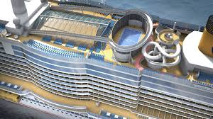 Costa Cruises Smeralda Top view