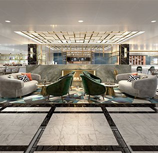 Crystal Cruises Endeavor Bistro Lounge