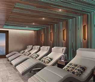 Crystal Cruises Endeavor Spa