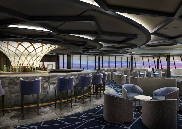 Norwegian Spirit Spinnaker Lounge