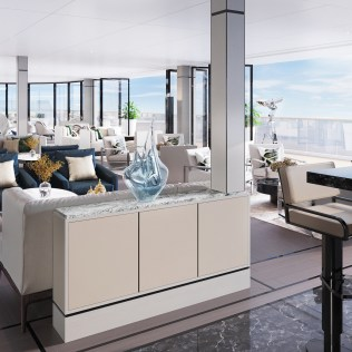Ritz Carlton Yacht Observation Lounge
