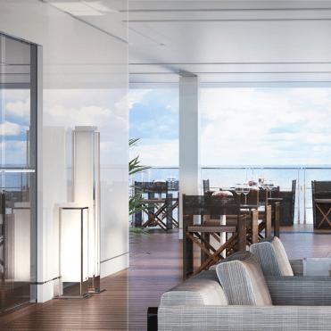 RitzCarltonYachtThe Marina Terrace