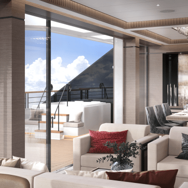 RitzCarltonYachtThe Owners Suite Dayroom