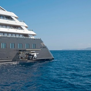 Scenic Eclipse cruise ship submarine