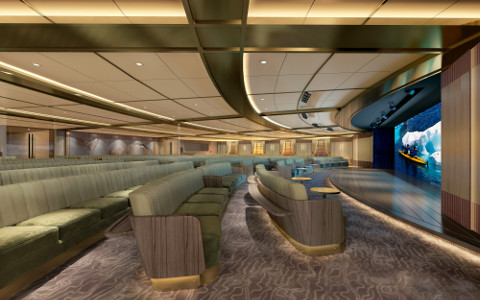 Seabourn Venture Discovery Center