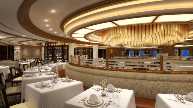 Sky Princess Main Dining Room