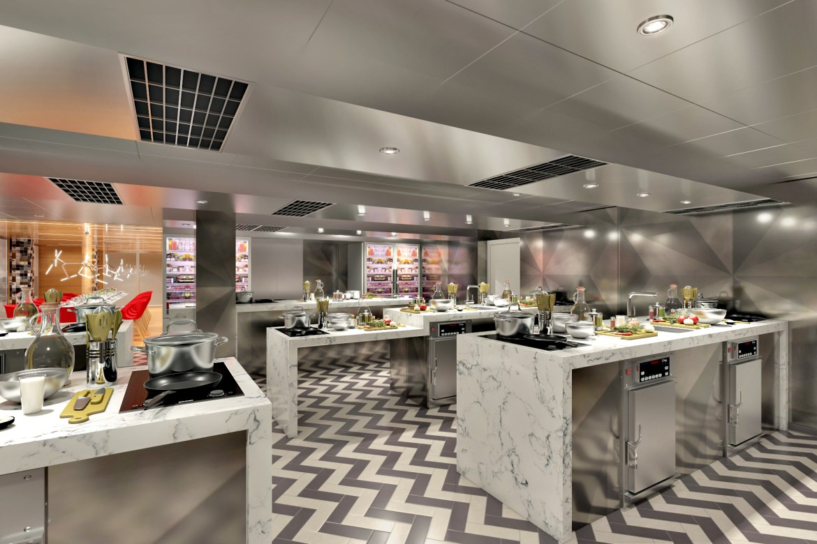 Carnival Cruises Panorama ship offers 15 cooking classes