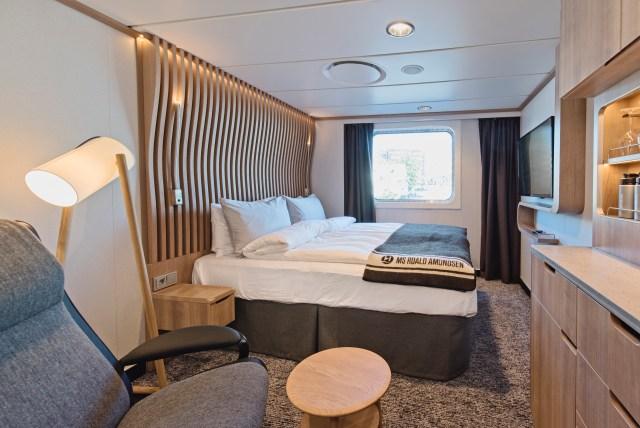 Hurtigruten cruises cruise ship stateroom
