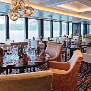 Hurtigruten cruises cruise ship Lindstrom restaurant