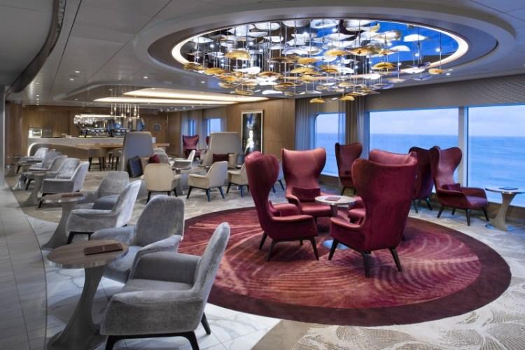 Celebrity Cruises Edge Lounge