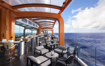 Celebrity Cruises Edge cruise ship magic carpet