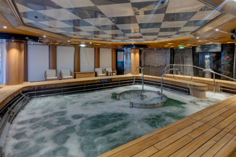 Holland America Noordam fitness facilities spa