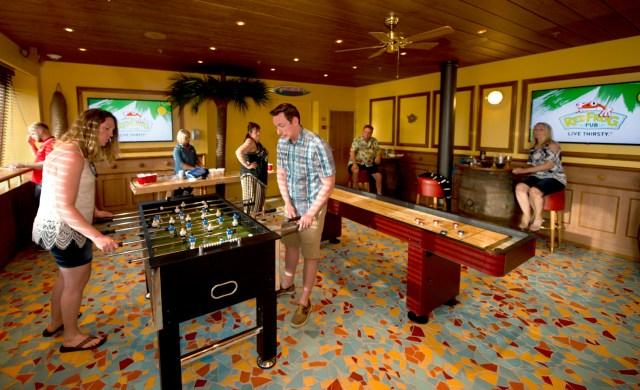 Carnival Cruises Sunrise cruise ship Red Frog bar