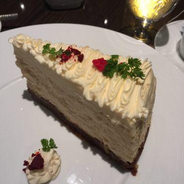 Carnival Cruises Panorama cruise ship Fahrenheit 555 Steakhouse dessert