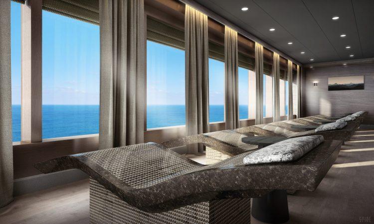 Norwegian cruise line Spirit cruise ship Mandara Spa