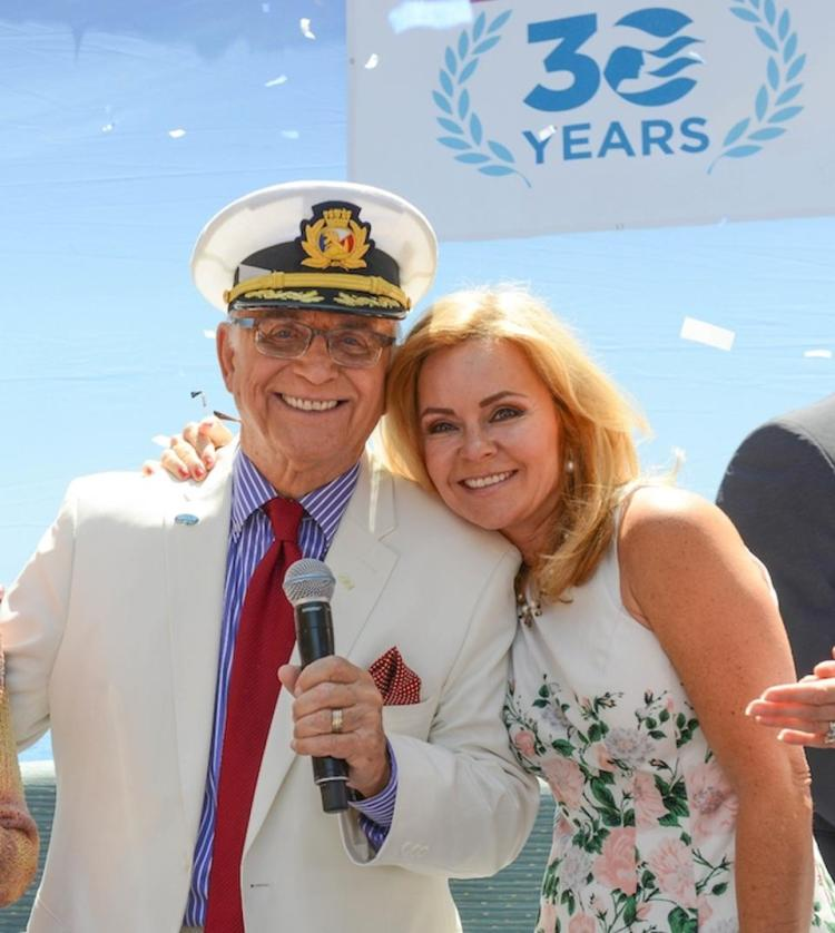 Princess Cruises Gavin MacLeod and Vicki Whelan vow renewal cruise weddings