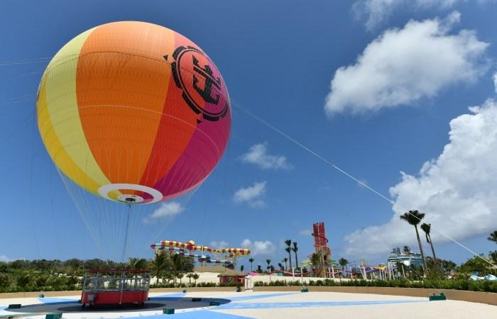 Royal Caribbean Perfect Day Coco Cay Hot Air Balloon