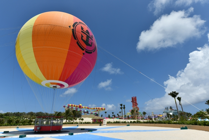 Royal Caribbean Perfect Day Coco Cay Hot Air Balloon