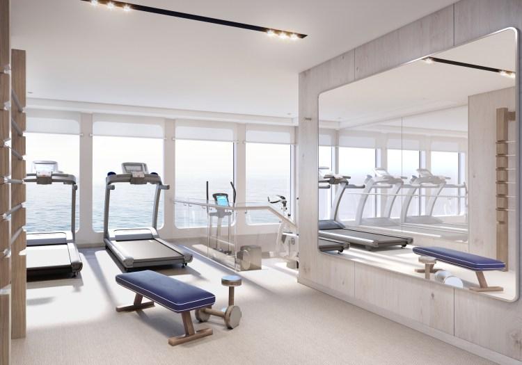 Silversea Origin gym