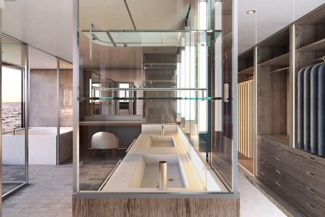 silversea origin cruise ship owner bathroom