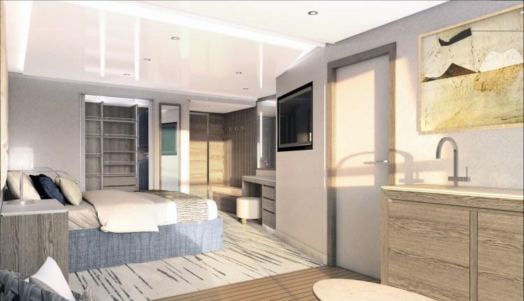 Silversea Origin deluxe veranda suite