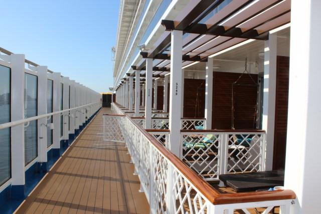 Carnival Cruises Panarama Havana suite lanai balcony