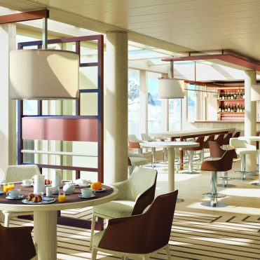 Lindblad Expeditions National Geographic Endurance cruise ship bistro observation lounge