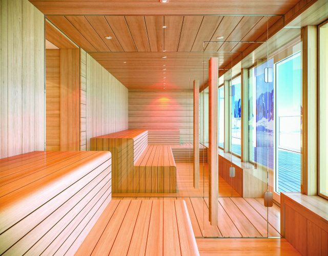 Lindblad Expeditions National Geographic Endurance cruise ship spa sauna