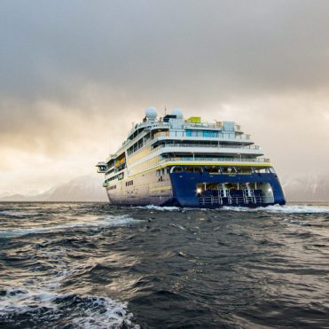 Lindblad Expeditions National Geographic Endurance cruise ship aft.