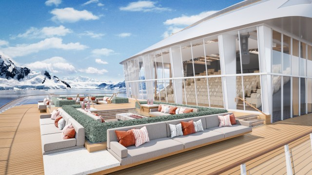 Viking Cruises Expedition Finse Terrace