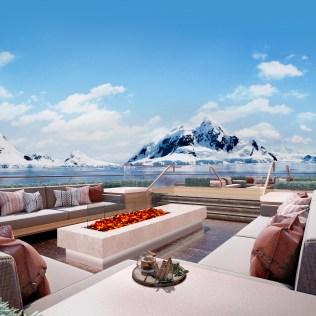 Viking Cruises Expedition Fine Terrace hedges