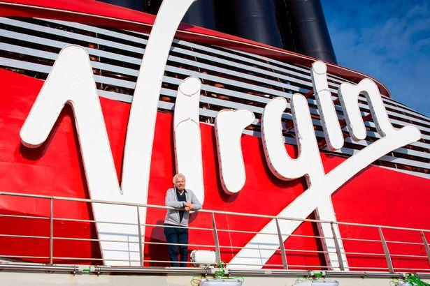 Virgin Voyages Scarlet Lady cruise ship Richard Branson tour